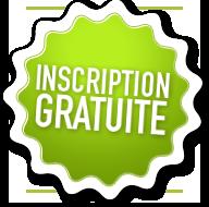 Inscription gratuite